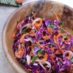 Thumbnail image for Asian Slaw Recipe with Cabbage, Carrot and Cilantro