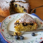 Thumbnail image for Blackberry Corn Cardamom Cake with Olive Oil