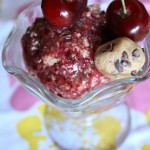 Thumbnail image for Cherry Ice with Cocoa Nib Cookie Dough & The Cookie Dough Lovers Cookbook Review