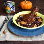 Thumbnail image for Chicken Mole with Fall Harvest Rice Recipe