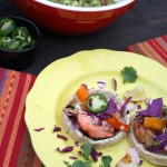 Thumbnail image for Blackened Salmon Sopes with Grilled Peppers and Onions Recipe