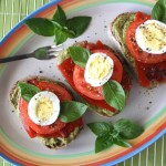 Thumbnail image for Food Literacy Sandwich: Garden Pesto Tomato & Egg