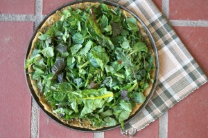 Greens & Pesto Pizza 1 web