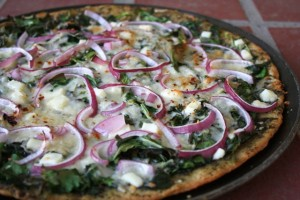 Greens & Pesto Pizza 4 web
