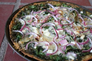 Greens & Pesto Pizza 5 web