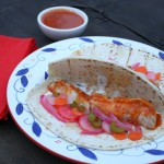 Thumbnail image for Fish Tacos with Hot Wings Sauce Marinade and Garden Celery