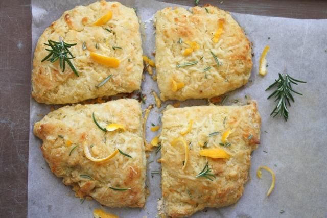 Meyer lemon rosemary biscuits 6web
