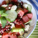 Thumbnail image for Minted Watermelon Cucumber Salad