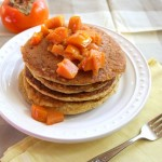 Thumbnail image for Persimmon Cornmeal Pancakes