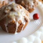 Thumbnail image for Holiday Orange Pumpkin Cranberry Muffins