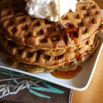Thumbnail image for Pumpkin Waffles with Vanilla Whipped Cream