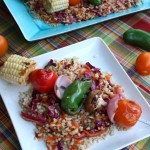 Thumbnail image for Korean BBQ Veggie Kebabs with Brown Rice